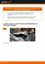 Cómo cambiar: termostato refrigerante - Opel Meriva X03 | Guía de sustitución