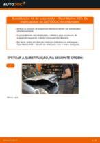 Como mudar kit de suspensão da parte dianteira em Opel Meriva X03 - guia de substituição