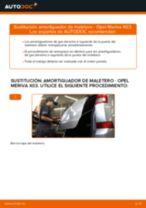 Manual de instrucciones OPEL MERIVA