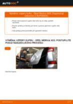 Manuální PDF pro údržbu MERIVA