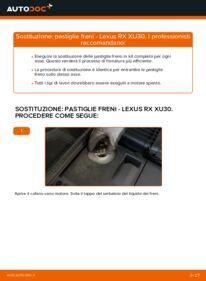 Come effettuare una sostituzione di Pastiglie Freno su LEXUS ? Dai un'occhiata alla nostra guida dettagliata e scopri come farlo