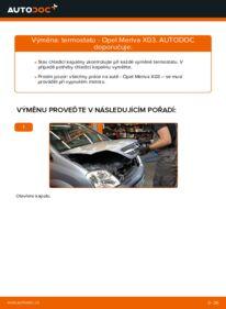 Jak provést výměnu: Termostat na 1.7 CDTI (E75) Opel Meriva x03