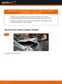 Cum să efectuați înlocuirea: Termostat la 1.7 CDTI (E75) Opel Meriva x03