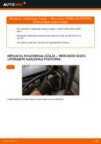 Navodila za vzdrževanje MERCEDES-BENZ pdf