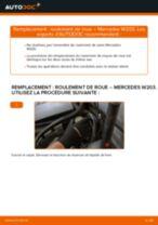 MERCEDES-BENZ CLK tutoriel de réparation et de maintenance