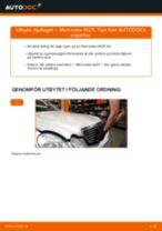 Laga Lagring Hjullagerhus MERCEDES-BENZ E-CLASS: verkstadshandbok