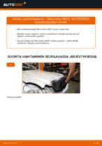 Vaihda MERCEDES-BENZ Pyöränlaakerisarja itse - käsikirja verkossa