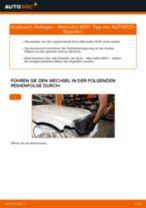 Wie Mercedes W211 Radlager vorne wechseln - Anleitung