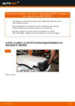 Cómo cambiar: cojinete de rueda de la parte delantera - Mercedes W211 | Guía de sustitución