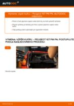 Podrobný PDF tutorial k výmene VW T-Cross (C11_) Lozisko kolesa