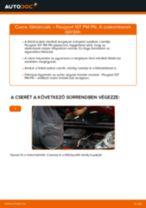 Hogyan cseréljünk első Törlőkar Ablaktörlő Opel Astra h l48 - kézikönyv online
