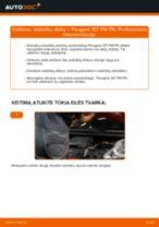 Automechanikų rekomendacijos PEUGEOT PEUGEOT 107 1.4 HDi Amortizatorius keitimui