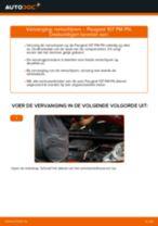 Luchtfilter vervangen PEUGEOT 107: gratis pdf