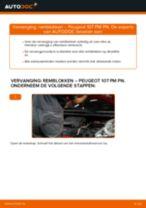 Aanbevelingen van de automonteur voor het vervangen van PEUGEOT PEUGEOT 107 1.4 HDi Remschijven