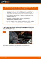 Instalación Frenos de disco PEUGEOT 107 - tutorial paso a paso