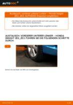 Wie Bremsbackensatz für Trommelbremse hinten und vorne beim DAIHATSU CHARMANT wechseln - Handbuch online