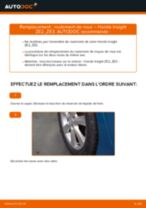 Montage Kit de roulement de roue HONDA INSIGHT (ZE_) - tutoriel pas à pas