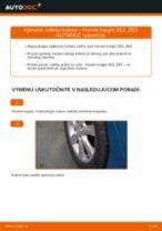 Ako vymeniť a regulovať Drżiak ulożenia stabilizátora HONDA INSIGHT: sprievodca pdf