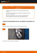 Hoe Wiellagerset achter en vóór veranderen en installeren: gratis pdf handleiding