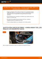 Manual de instrucciones HONDA INTEGRA