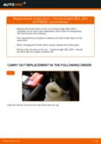 HONDA ACTY repair manual and maintenance tutorial
