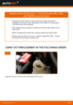 Step-by-step repair guide & owners manual for HONDA FR-V