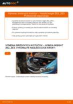 Vymeniť Riadiaca tyč HONDA INSIGHT: zadarmo pdf