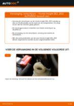 Ruitenwisserstangen vervangen HONDA INSIGHT: gratis pdf