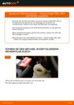 HONDA-Werkstatthandbuch mit Abbildungen