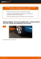 Manuel en ligne pour changer vous-même de Joint à rotule sur Honda Prelude BA4