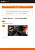 Jak vyměnit zadní tlumiče pérování na Ford Focus DAW – návod k výměně