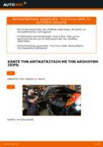 Πώς να αλλάξετε αμορτισέρ πίσω σε Ford Focus DAW - Οδηγίες αντικατάστασης