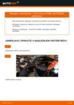 Kako zamenjati avtodel amortizer zadaj na avtu Ford Focus DAW – vodnik menjave