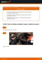 Comment changer : amortisseur arrière sur Ford Focus DAW - Guide de remplacement