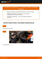 Udskift støddæmper bag - Ford Focus DAW | Brugeranvisning