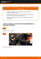 Cómo cambiar: amortiguadores de la parte trasera - Ford Focus DAW | Guía de sustitución