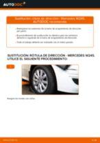 Cómo cambiar: rótula de dirección - Mercedes W245 | Guía de sustitución