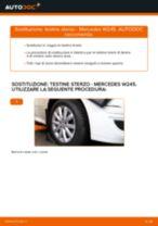 Come cambiare testine sterzo su Mercedes W245 - Guida alla sostituzione
