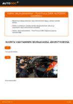 Iskunvaimennin vaihto: FORD FOCUS pdf oppaat