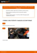 Ako vymeniť zadné tlmiče pruženia na Ford Focus DAW – návod na výmenu