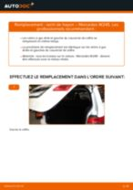 Changement Verin De Hayon MERCEDES-BENZ B-CLASS : manuel d'atelier