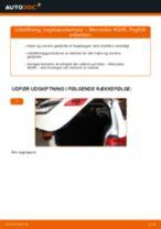 Automekaniker anbefalinger for udskiftning af MERCEDES-BENZ Mercedes W245 B 200 CDI 2.0 (245.208) Bremseskiver