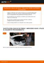 Manual online sobre el cambio de Juego de reparación pinza de freno por su cuenta en MERCEDES-BENZ B-CLASS (W245)