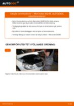Bilmekanikers rekommendationer om att byta MERCEDES-BENZ Mercedes W245 B 200 CDI 2.0 (245.208) Bromsbelägg