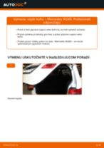 MERCEDES-BENZ Trieda B príručka údržba a opravy