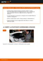 MERCEDES-BENZ B-osztály kezelési kézikönyv