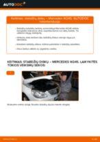 Automechanikų rekomendacijos MERCEDES-BENZ Mercedes W245 B 200 CDI 2.0 (245.208) Oro filtras keitimui