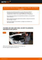 Bremsscheiben wechseln MERCEDES-BENZ B-CLASS: Werkstatthandbuch