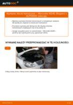 Jak wymienić klocki hamulcowe tył w Mercedes W245 - poradnik naprawy
