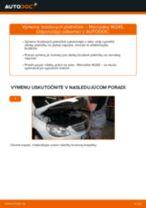 FIAT Drżiak ulożenia stabilizátora vymeniť vlastnými rukami - online návody pdf